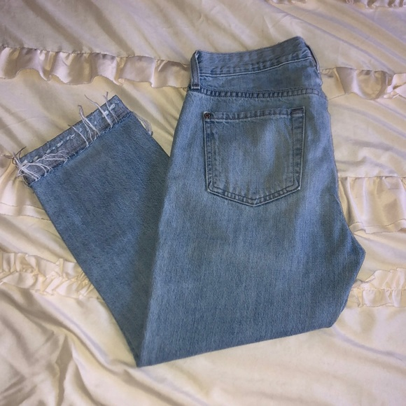 7 For All Mankind Denim - 7 for all mankind high waisted jeans